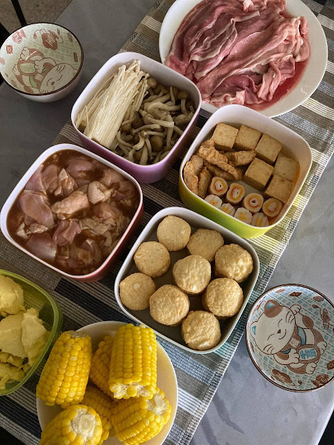 Prep Buat Shabu-Shabu di Rumah | Beli Alat BBQ Grill Steamboat Hot Pot