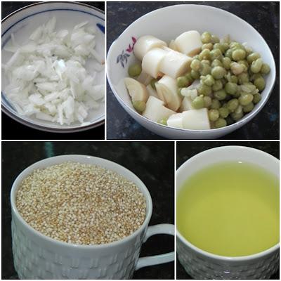 quinoa cozida