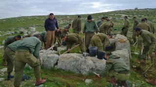 Soldados israelenses descobrem a torre de vigia do reinado do Rei Ezequias