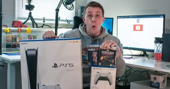 Sorteio de um PlayStation 5 + 2 jogos