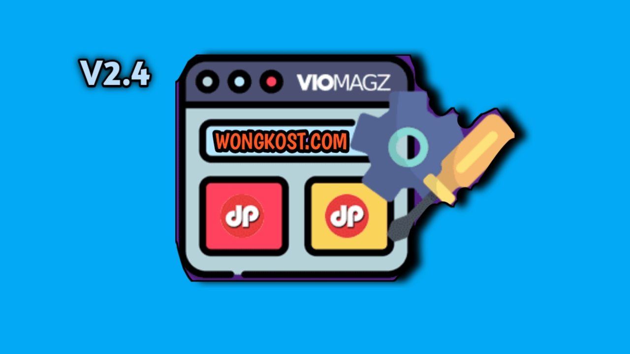 Download Gratis Template Viomagz V2.4 Terbaru