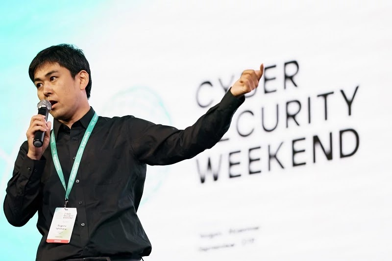 Suguru Ishimaru, security researcher at Kaspersky