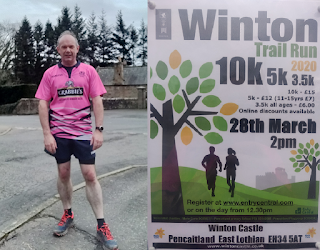 Me and Winton 10k Trail Poster