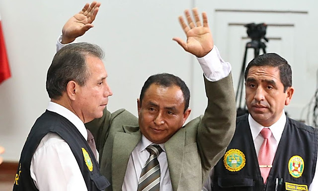 Poder Judicial condenó a 19 años y 4 meses de prisión a Gregorio Santos por corrupción