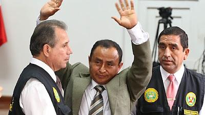 Gregorio Santos es condenado a 19 años de prisión por corrupción