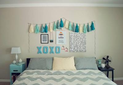 dekorasi kamar kost sederhana terbaru