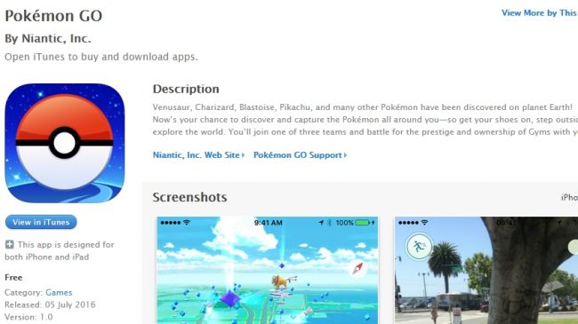Cara Download dan Install Pokemon Go di iOS iPhone