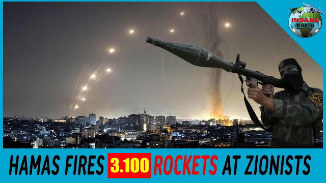 Hamas Kirim 3.100 Roket ke Israel, Terbanyak dalam Sejarah