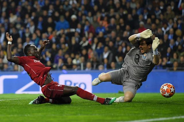 Sadio Mane Liverpool And Ikey Casillas FC Porto