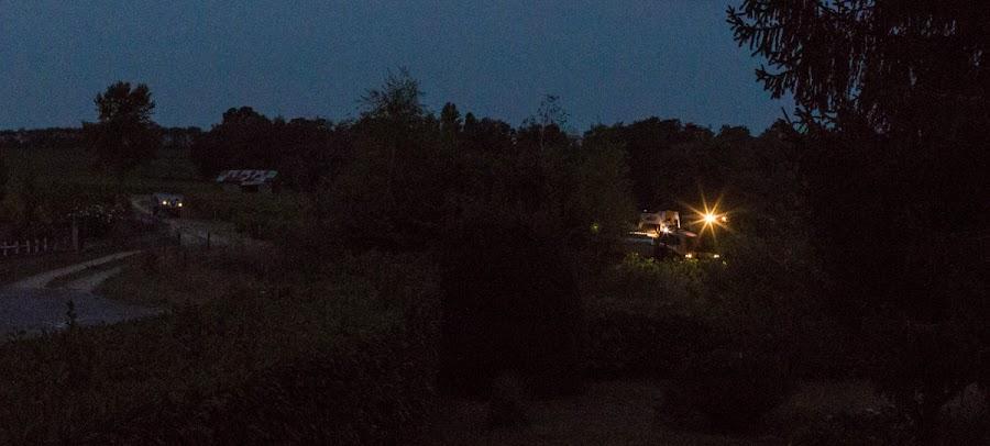 Harvesting in the dark