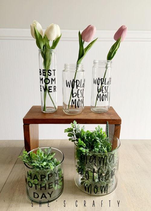 Mother's Day flower vase - gift idea