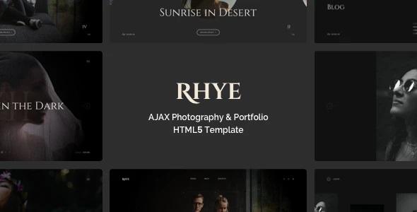 AJAX Portfolio HTML5 Template