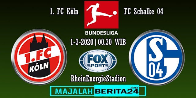 Prediksi FC Koln vs Schalke 04