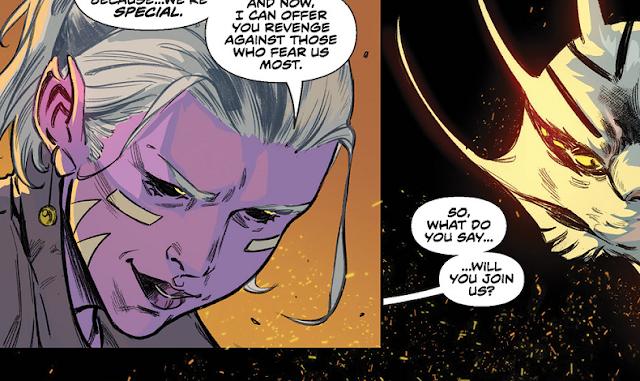 Kiya aparece em flashback na prévia de Power Rangers #10
