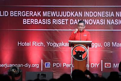 Hasto: PDIP DIY Gelorakan Nilai Kebudayaan
