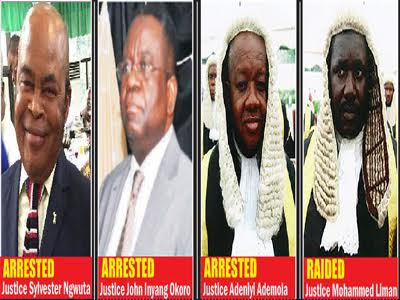 DSS accuses judges of collecting bribes from Departmental stores, clients in Niger republic, Benin Republic