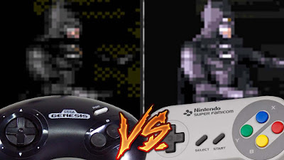 Mega Drive Vs SNES - Batman Forever