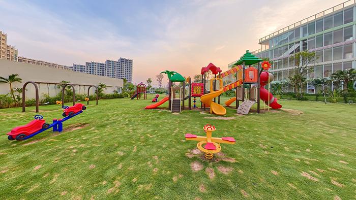 Khu vui chơi ngoài trời dành cho trẻ em