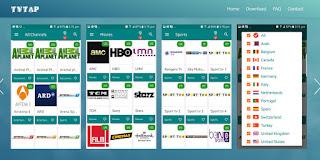 نسخة جديدة تطبيق TVTAP pro من أقوى تطبيقات مشاهدة جميع القنوات التلفزية مجانا بجميع الجودات