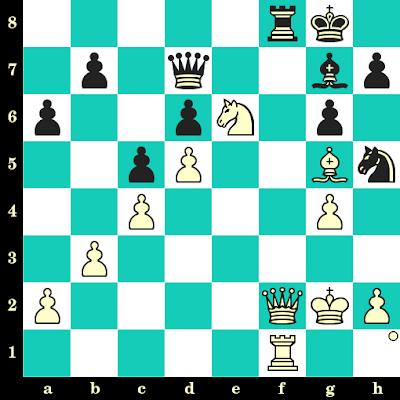 Les Blancs jouent et matent en 2 coups - Wilfried Paulsen vs Adolf Anderssen, Francfort, 1878
