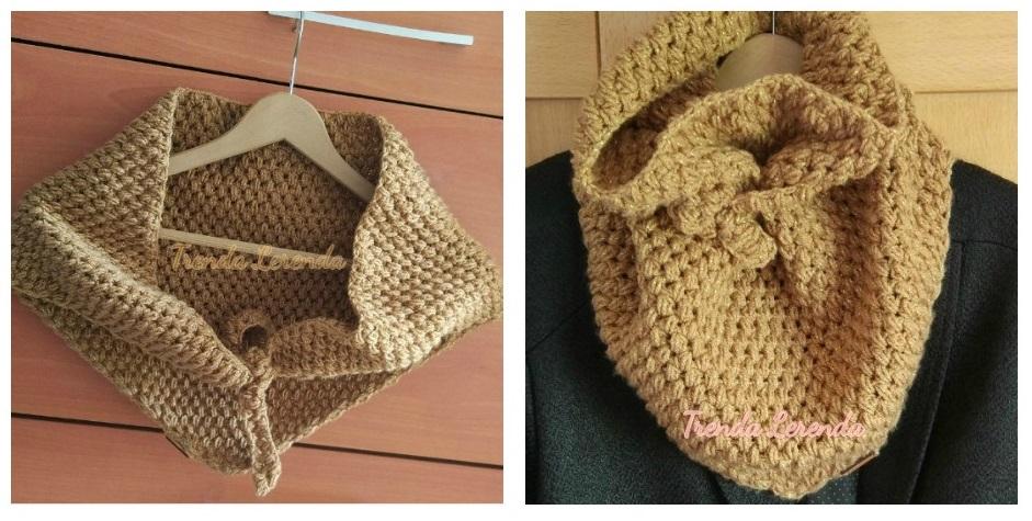 Trenda Lerenda: Patrón para hacer una bufanda triangular a crochet ...