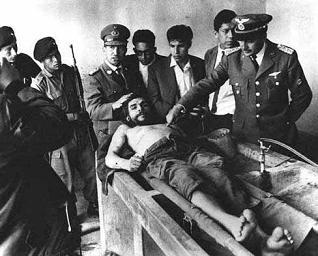 Che Guevara's Dead Body on Display, October 1967