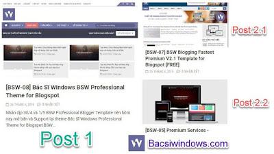 Hiển thị bài viết theo danh mục tại trang chủ cho blogspot