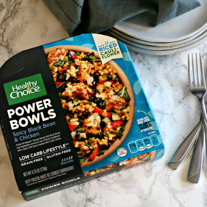 A variety of healthier ready-made meal options with descriptions and reviews.