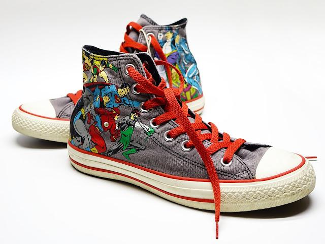 Cara membersihkan sepatu converse berbahan kanvas