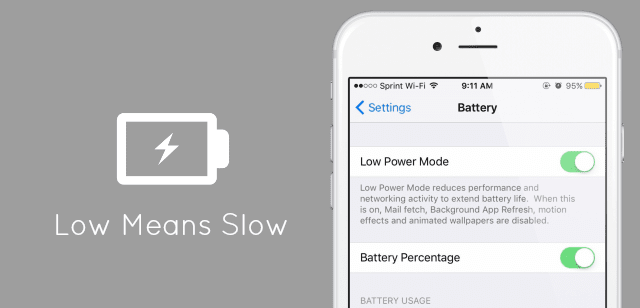 iOS 9 can Slow Down your iPhone 6 Plus and later