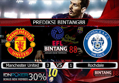 Prediksi Skor Manchester United vs Rochdale 26 September 2019