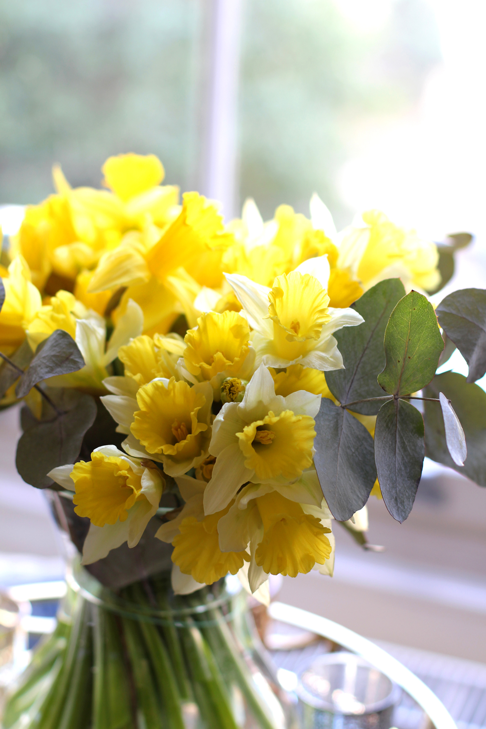 Daffodils at home - London style blogger