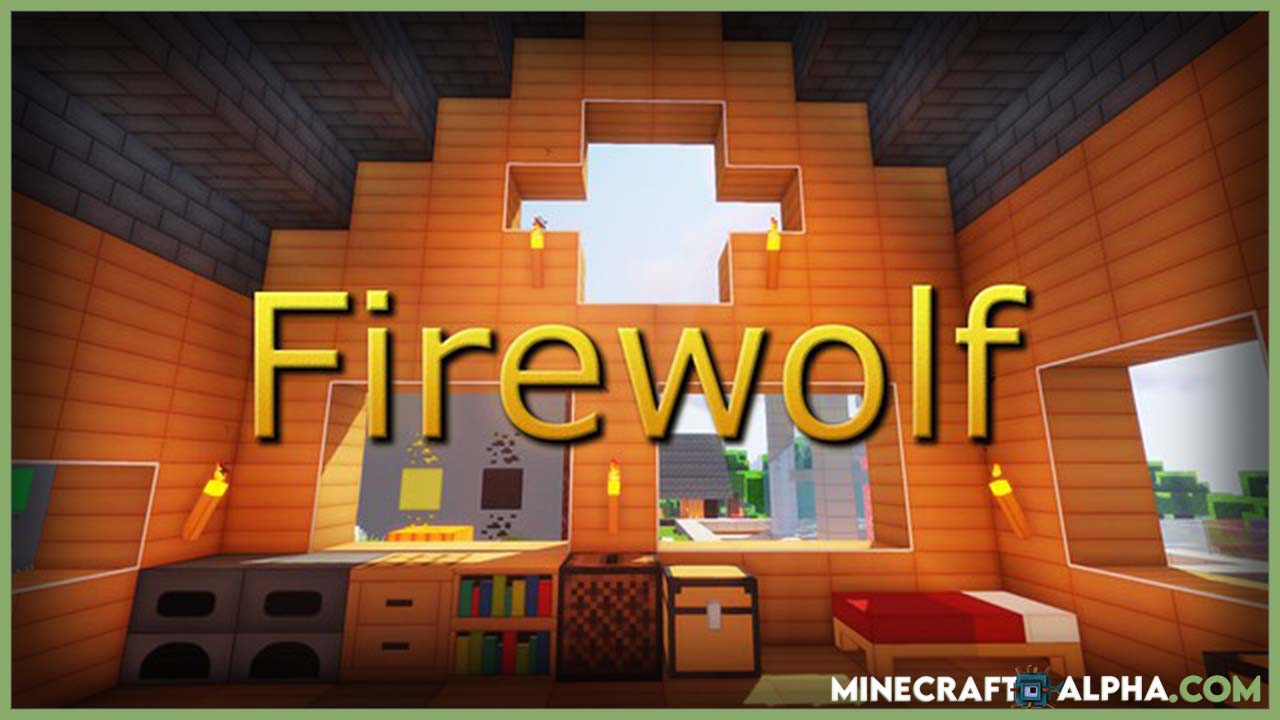 Firewolf 3D x128 Resource Pack For 1.17