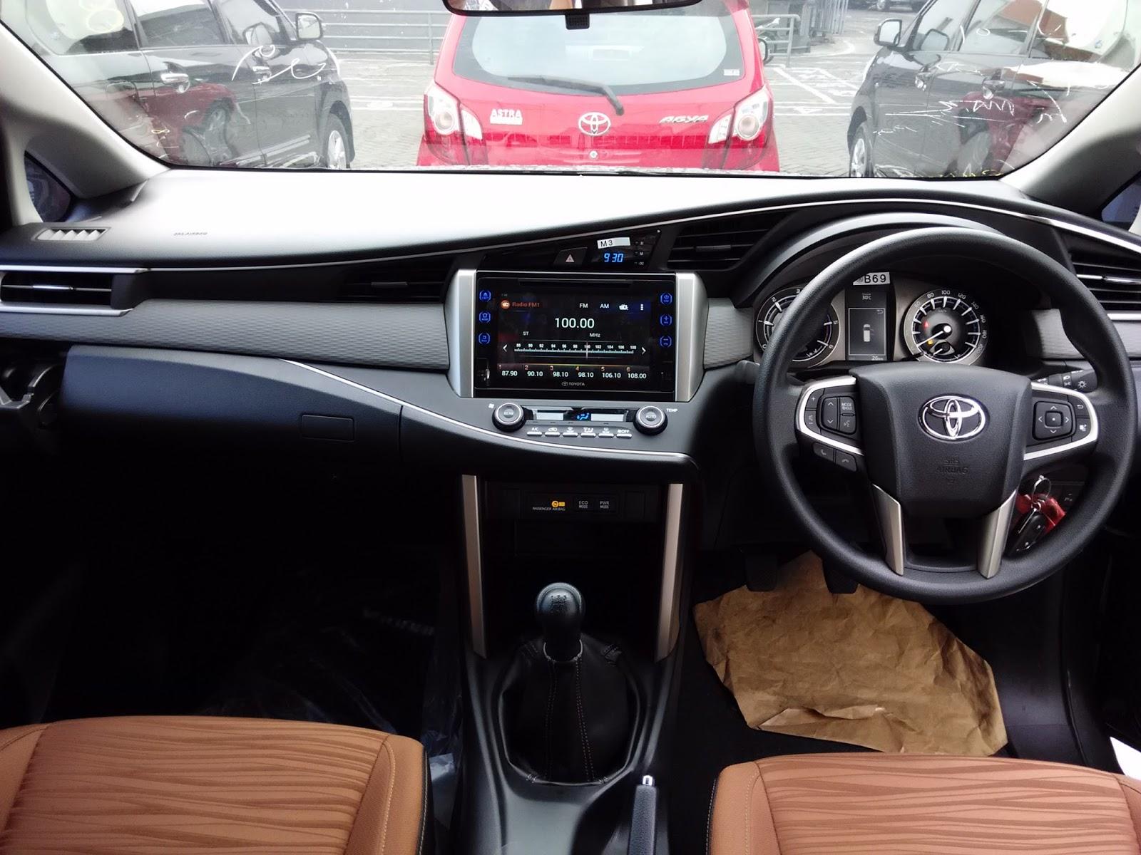 Interior New Innova Venturer Cara Ganti Klakson Grand Avanza Melihat All Tipe V Dikta Toyota