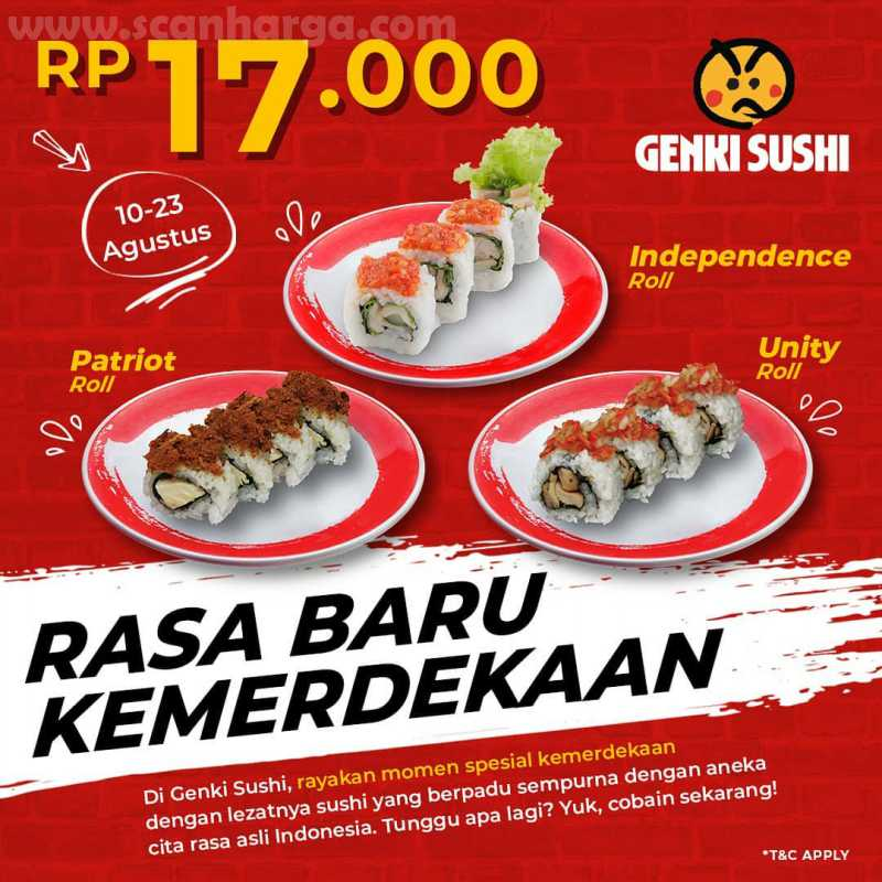 Promo Genki Sushi