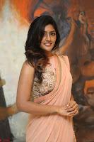 Eesha Rebba in beautiful peach saree at Darshakudu pre release ~  Exclusive Celebrities Galleries 011.JPG