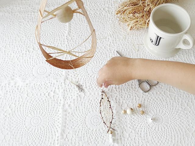 Traumfänger aus Naturmaterialien | Basteln mit Kindern | 12 Nachmach-Tipps und DIY-Ideen im Juni | www.mammilade.blogspot.de