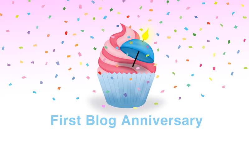 First Blog Anniversary