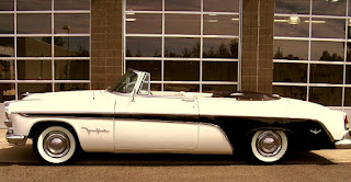 1955 Chrysler Desoto Fireflite Convertible Side