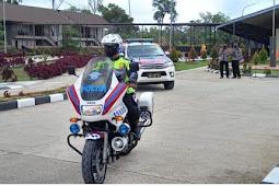 Ratusan Personil TNI-Polri Kawal Kunker Menkopolhukam RI dan Mendagri ke PLBN Sota