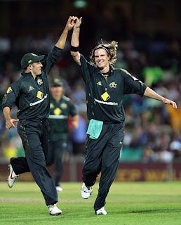 Nathan Bracken 5-47 - Australia vs Sri Lanka 3rd Match CB Tri-Series 2008 Highlights