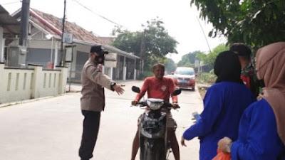 POLRES KARAWANG : PPKM Darurat Sekala Mikro di Desa Wancimekar