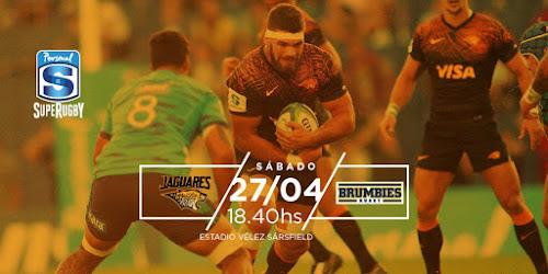 Jaguares recibe a Brumbies por el Super Rugby