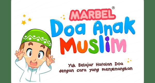 marbel doa anak muslim