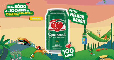 Promoção Guaraná Antarctica 100 Anos