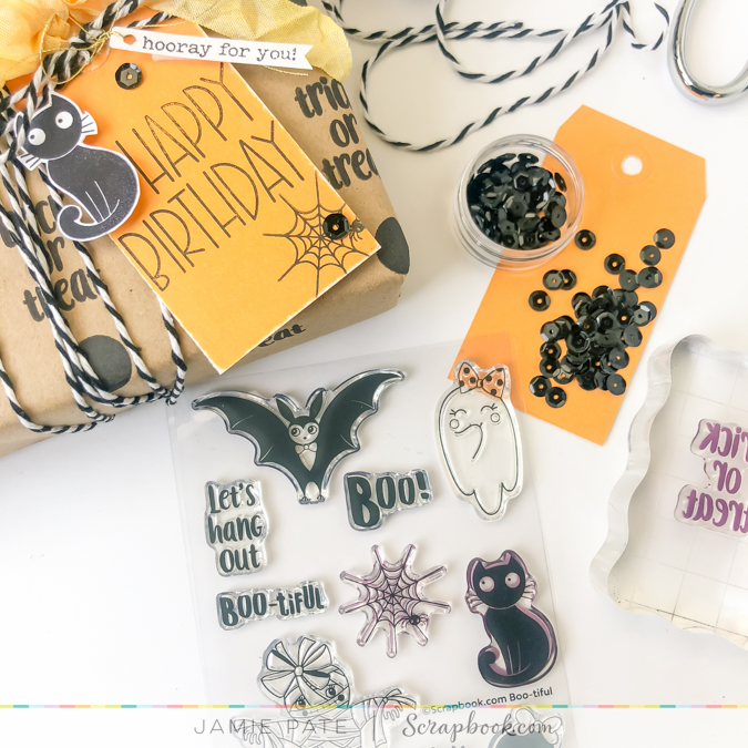 How to Make  Boo-tiful Gift Wrapping