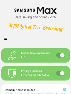 Latest MTN Free Browsing Cheat via Opera Daily 50MB Data