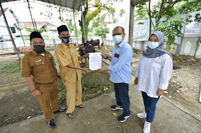 PTBA Peduli Masyarakat di Hari Raya Qurban 1442 H