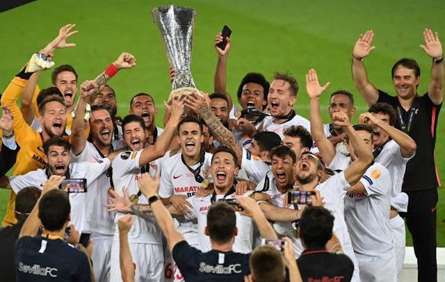 Gasak Inter 3-2, Sevilla Kampiun Liga Europa 2019-2020