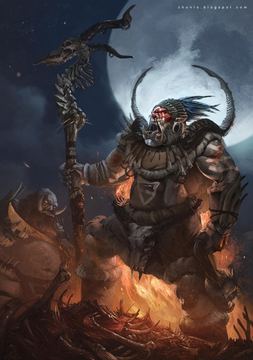 Chun Lo artstation deviantart arte ilustrações fantasia ficção científica terror monstros dragões criaturas
